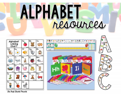 All About the Alphabet - The First Grade Parade