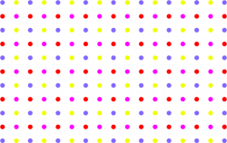 Clipart - Seamless Colorful Sparse Polka Dot Pattern