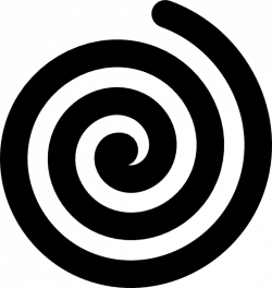 Black Bold Spiral Clip Art at Clker.com - vector clip art online ...