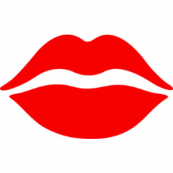 88+ Red Lips Clipart | ClipartLook