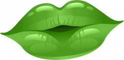 Lips Clipart green lip - Free Clipart on Dumielauxepices.net