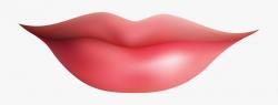 Smiling Kiss Lips Clipart - Lips Clipart , Transparent ...