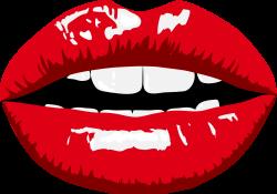 Sensual Female Lips Photo Prop | Free Printable Papercraft Templates