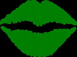 Green Lips Clip Art at Clker.com - vector clip art online ...