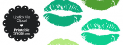 Free green lips clipart - Clip Art Library
