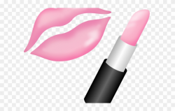 Lipstick Clipart Animated - Pink Lipstick Clipart - Png ...