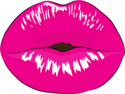 Girl pink lips clipart png collection