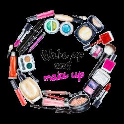Cosmetics Beauty Watercolor painting Eye shadow - Creative Makeup ...
