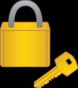 Lock and Key - Free Clip Art