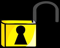Lock Jail Free Clip Art at Clker.com - vector clip art online ...