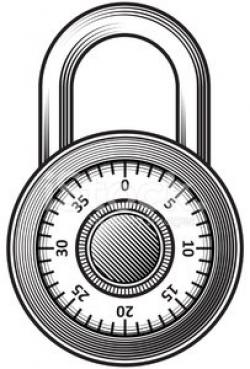 Combination Lock premium clipart - ClipartLogo.com