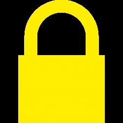 File:Yellow padlock.svg - Wikimedia Commons