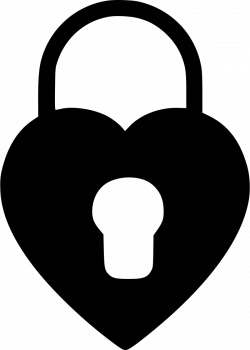 Heart Lock Svg Png Icon Free Download (#559946) - OnlineWebFonts.COM