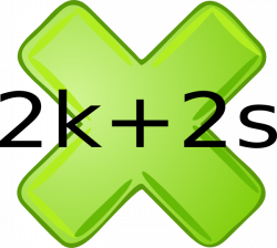 Multiplication Sign Clip Art at Clker.com - vector clip art online ...