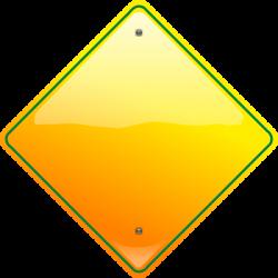 Stop Sign Yellow Clip Art at Clker.com - vector clip art online ...
