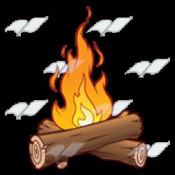 Fire Logs Clipart