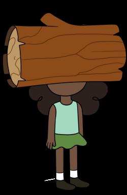 Log Face by TheCheeseburger on DeviantArt