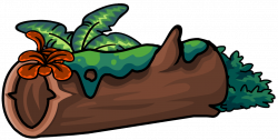 Image - Mossy Log furniture icon ID 701.png | Club Penguin Wiki ...