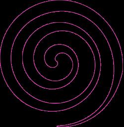 Black Spiral Lollipop Clip Art at Clker.com - vector clip art online ...