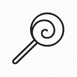 lollipop clipart black and white - Google Search | Black ...