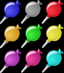 Lollipops Clip Art at Clker.com - vector clip art online, royalty ...
