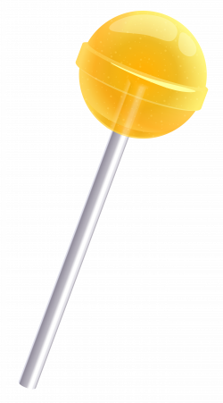 Yellow Lollipop PNG Clipart Picture | Gallery Yopriceville - High ...