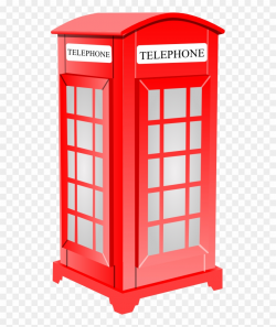 British Phone Booth 1 555px - London Phone Booth Clipart ...