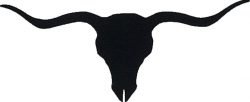 cowboy silhouette | Texas Longhorn Silhouette Clip Art | SILHOUETTE ...