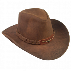 Brumby Hat In Brown - Kakadu Traders Australia