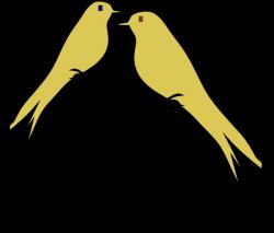 Love Birds Clip Art at Clker.com - vector clip art online, royalty ...