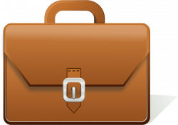 Briefcase Clip art - Brown bag 800*566 transprent Png Free Download ...