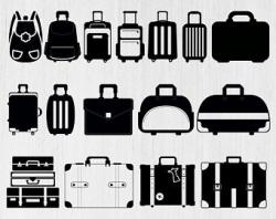 Suitcase svg | Etsy