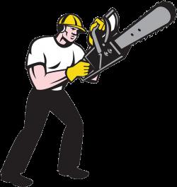 Chainsaw Arborist Lumberjack Illustration - Cartoon man 968*1024 ...