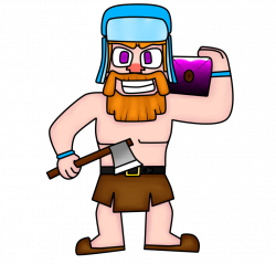 Lumberjack of Clash Royale (By Junior3DGames) by ...