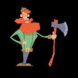Woodsman. (I have an affinity for lumberjacks.) | Character Design ...