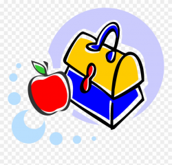 Esl School Writing - Lunch Box Clip Art - Png Download ...