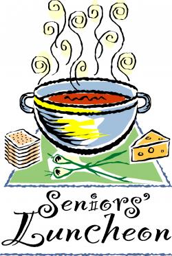 Senior Adult Luncheon Clipart