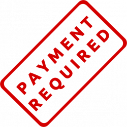 Payment Required Stamp Clip Art at Clker.com - vector clip art ...