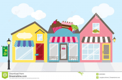 Shopping mall building clipart 8 » Clipart Station