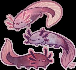 Space Axolotl by Galadnilien.deviantart.com on @DeviantArt | Concept ...