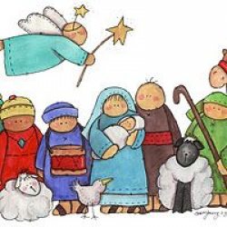 71 Best Nativity Drawings images in 2019 | Nativity ...