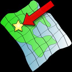 Ruffled Map Clip Art at Clker.com - vector clip art online, royalty ...