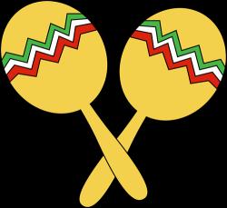 Mexican Maracas Clipart
