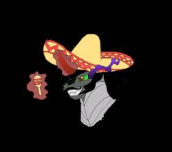 150442 - artist:juliofco, king sombra, king sombrero, maracas ...