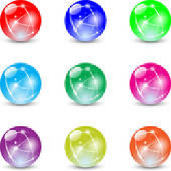 Marbles Clip Art - Royalty Free - GoGraph
