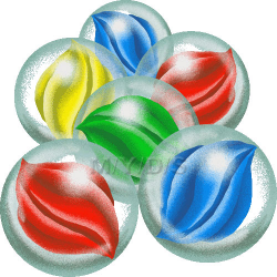 Marbles clipart ~ Frames ~ Illustrations ~ HD images ~ Photo Designs ...