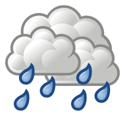 File:Weather-overcast-rare-showers.svg - Wikimedia Commons