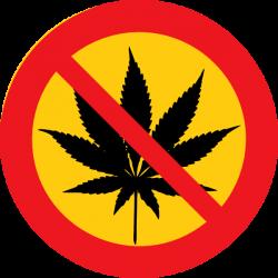 No Cannabis Clip Art at Clker.com - vector clip art online, royalty ...