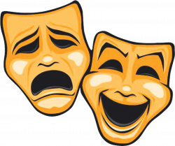 Mask Theatre Tragedy Comedy - Dinner Theatre Cliparts 1548*1299 ...