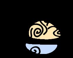 Spaghetti Pasta in Bowl - Vector Image